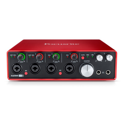 Scheda Audio FOCUSRITE SCARLETT 18i8INTERFACCIA AUDIO