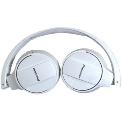 Pioneer Cuffie senza fili con collegamento via Bluetooth SE-MJ553BT Bianco