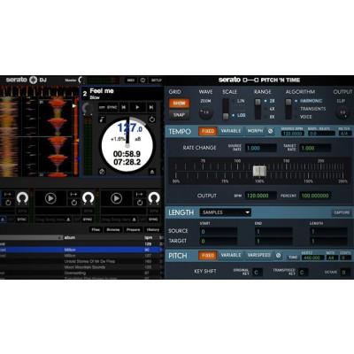 Serato Pitch 'N Time Expansion Pack per Serato DJ Pro - Codice