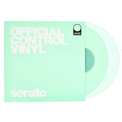 Serato Coppia di Vinili 7'' GLOW IN THE DARK Fosforescenti