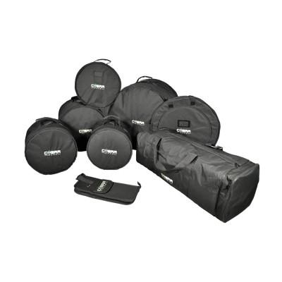 Cobra Drum Set Bags CC1053 Set Custodie Imbottite 8 pezzi