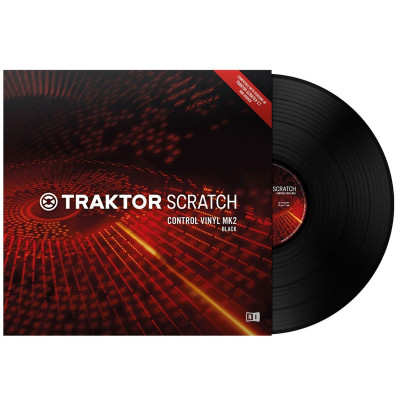 Native Instruments Traktor Scratch Vinile di Controllo MKII Black