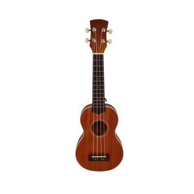 Ukulele Soprano in legno Sapele