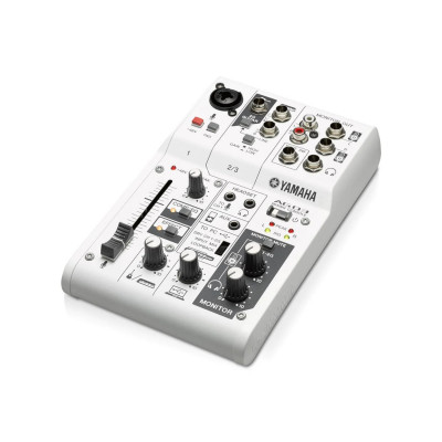 Yamaha AG03 Mixer USB 3 Canali con Interfaccia Audio