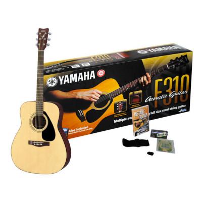 Chitarra Acustica Yamaha F310P2 Kit completo con DVD e accessori inclusi