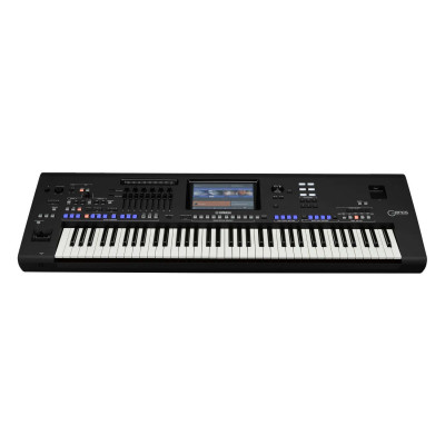 Yamaha Genos Workstation Digitale a 76 tasti 1652 voci piano cfx c7 display 9